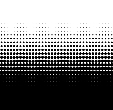 transition: Background of black dots with soft transition to white