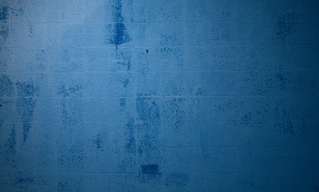 Light blue backdrop with stains and scratches Stock Photo
