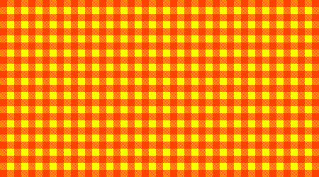 checkered tablecloth: Traditional checkered Tablecloth pattern red and yellow