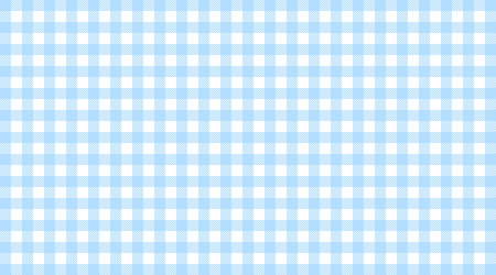 tablecloth: Traditional checkered tablecloth pattern light blue white Stock Photo
