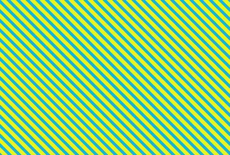 diagonally: Diagonally striped background turquoise yellow Stock Photo