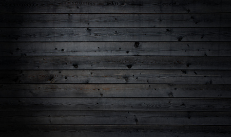 Rustic black parallel wooden boards