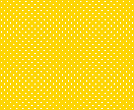 black yellow: Seamless orange Background with little white dots Stock Photo
