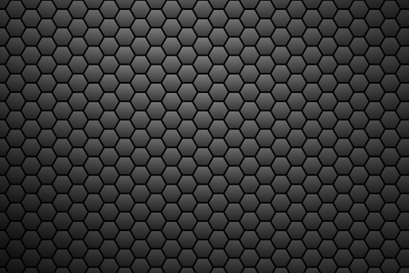 dark backgrounds: Honeycomb pattern with dark structure