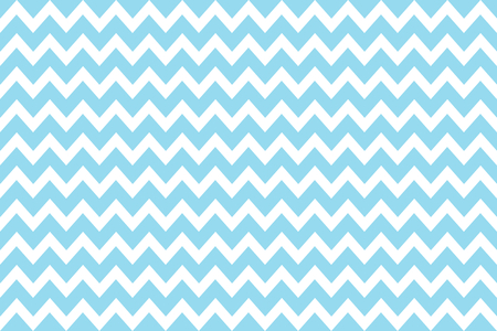 Retro Zig Zag background White Light Blue