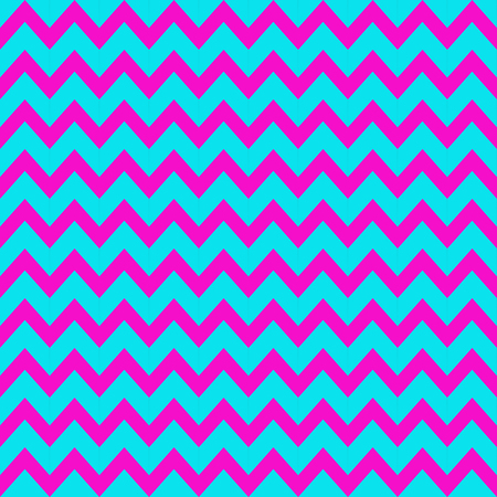 zig: Retro Vintage Zig Zag Background with pink and blue colors