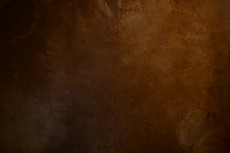 saddler: Old rustic dark brown leather background texture Stock Photo