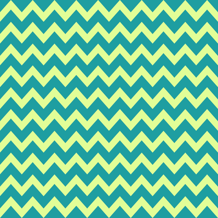zig: Retro Vintage Zig Zag Background with green and yellow colors