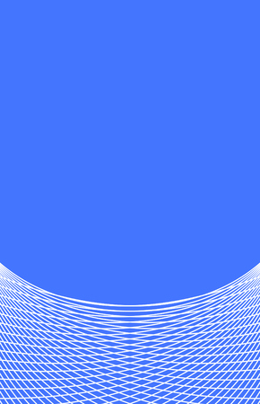 dynamically: Blue background with thin white lines