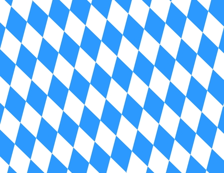 checked: Bavarian Pattern light blue and white background