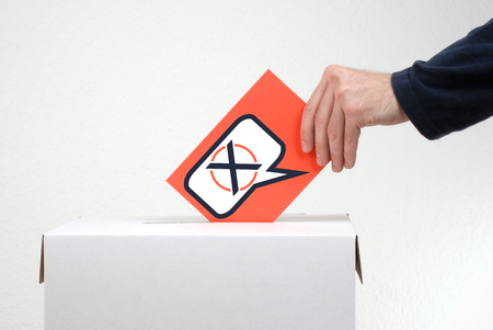 Time to vote - Election Stock Photo