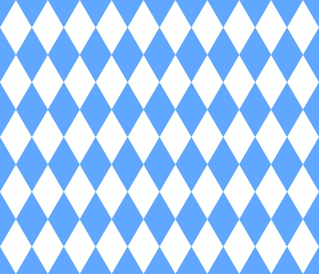 Seamless bavarian, background blue and white