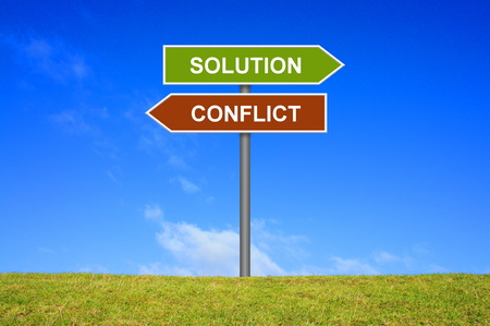 resolved: Signpost is showing solution or conflict