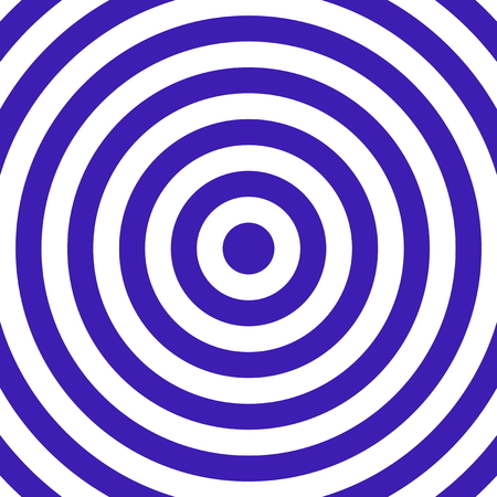 blue circles: Blue white target illustration with circles Stock Photo