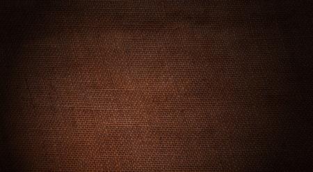 brown texture: Old jute background with dark brown texture