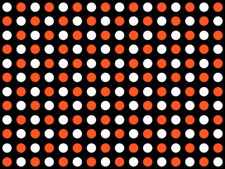 black white red: Classic dotted background black white red