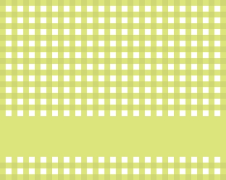 country kitchen: Checkered Tablecloth green white with stripe