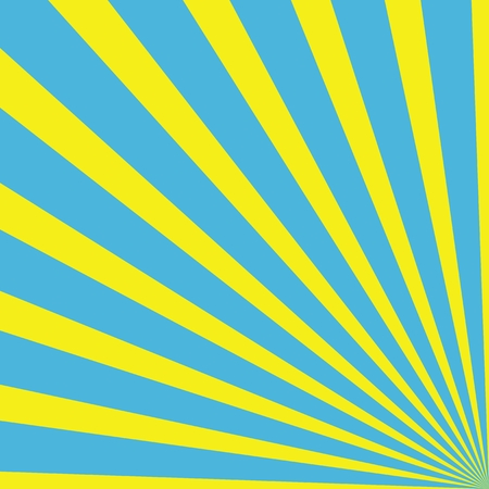 rays of light: Background with rays - Light Blue Yellow
