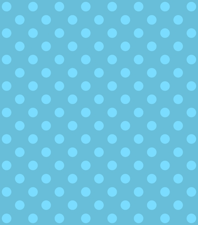 Polka dot background card light blue and blue