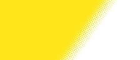 fading: Gradient texture with yellow dots on white Background