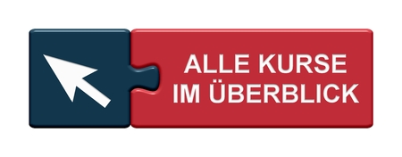 calendar icon: Isolated Puzzle Button with Symbol showing Overview all courses in german language