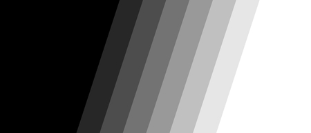 Wide Banner with black grey diagonal stripes and color transition to white