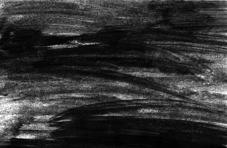 Painted background with untidy black color