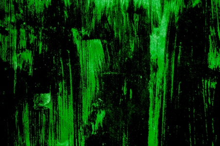 Very dirty grunge texture with green and black color