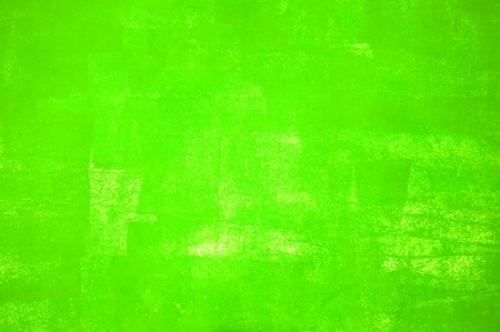Dirty handmade green painted texture Stock Photo