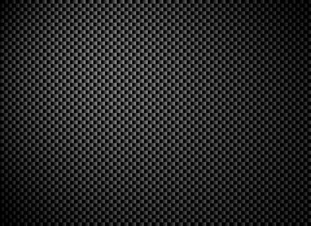 Dark black grey carbon fiber texture