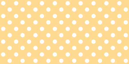 Orange brown background card with seamless white dots