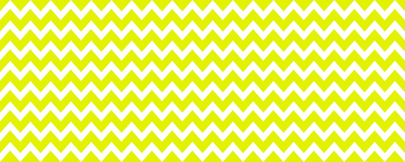 Seamless yellow green and white zig zag texture background