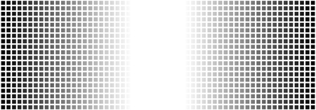 Wide background banner with monochrome squares black and white