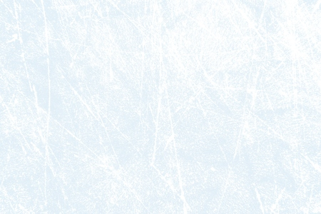 Light blue and white ice texture with scratches - background for ice hockey or skating on frozen winter lake Foto de archivo - 117299485