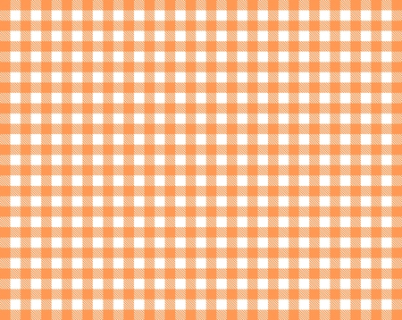 Tablecloth background texture checkered red orange and white Imagens