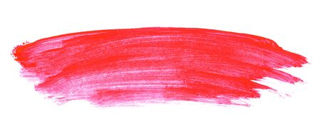 Watercolor backround: Hand painted texture with red pink color