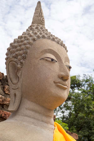 chaimongkol: buddha at chaimongkol temple Stock Photo