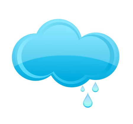 glass weather  rain cloud sign blue color