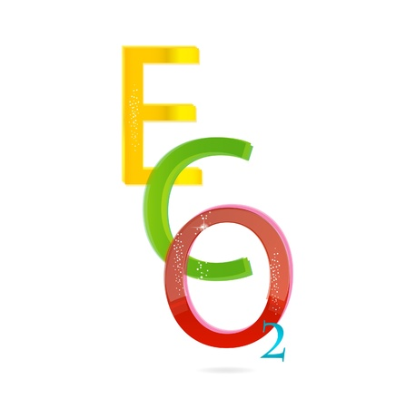 colored eco sign Stock Vector - 11233998