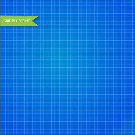 millimeter: Graph, millimeter paper blueprint. Seamless