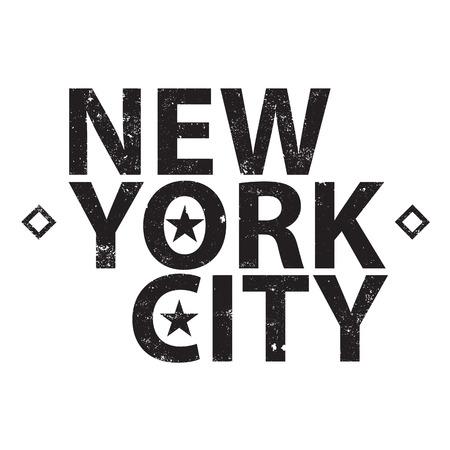 Vintage new york typography Vector