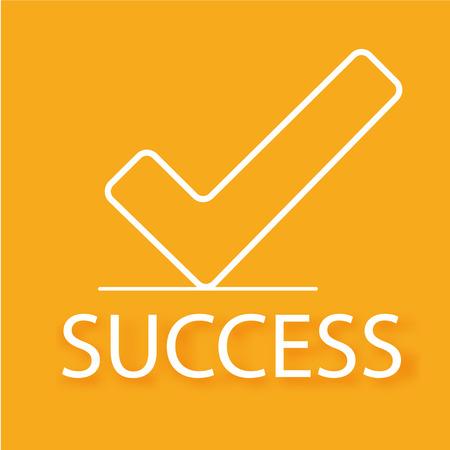 Business background. Success concept
