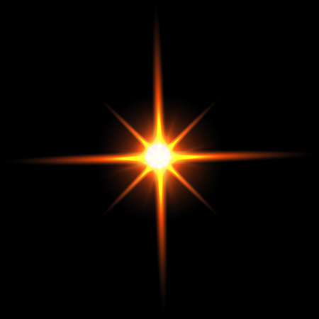 beautiful bright lens flares lighting effects of flash star rh 123rf com Sun Lens Flare Yellow Sun Clip Art