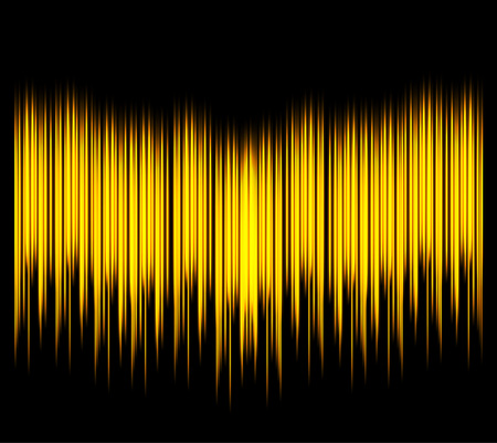 sonic: Waveform. Vector illustration for club, radio, party, concerts or the audio technology advertising background. Easy to use.