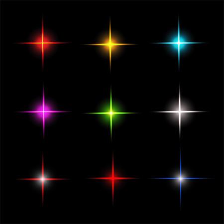 the dazzle: Collection of sparkle vector. Symbols sparkling stars. Set of sparkles star. Sparkle light. Sparkling stars.