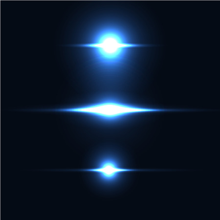 fleck: Collection of beautiful bright lens flares. Lighting effects of flash. Easy to use.