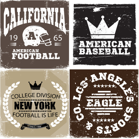 Collection of vector Graphics and typography t-shirt design for apparel.