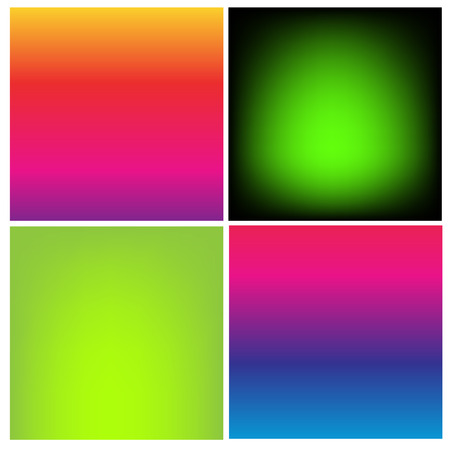 vibrant color: Collection of gradient vibrant color smooth silk background with with shade effect.