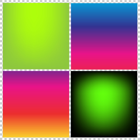 GRADIANT: Collection of gradient vibrant color smooth silk background with with shade effect.
