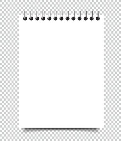 Lege vierkante notebook mockup omslagsjabloon. Stockfoto - 91466054